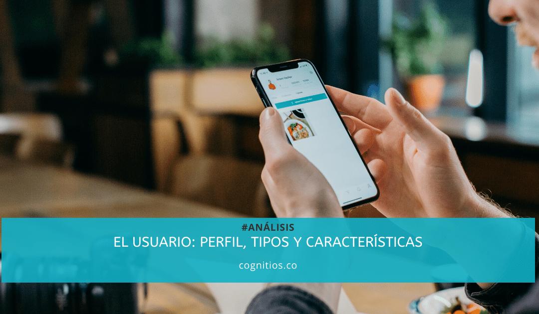 El usuario: perfil, tipos y características