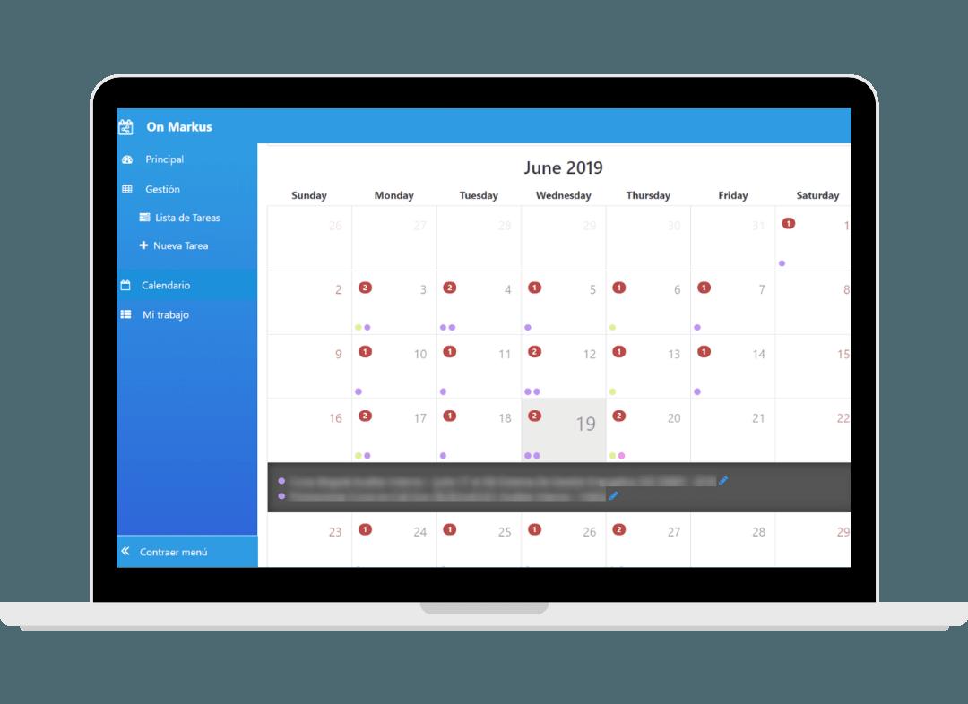 aplicaciones de cognitios inboki calendario de eventos