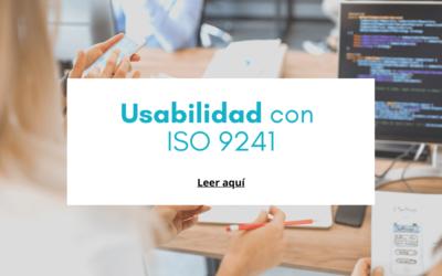 Usabilidad con ISO 9241